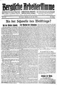 BAST_25_07_1914_Titelseite