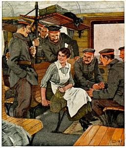 16SeptKriegspostkarten von B Wennerberg Nr13UrlaubsfahrtSlgBeisWeeze