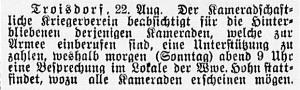 19140823_Kameradschftlicher Kriegerverein_vontif302