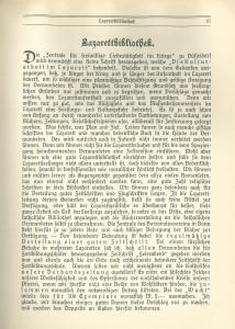 191409-12 Lazarettbibliothek_Korrespondenzblatt Präsides 1914_S 81
