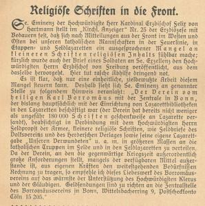 19141201 Religiöse Schriften_Wacht Anfang Dezember 1914_S 123