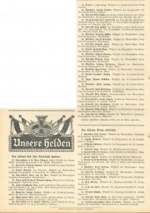 Die Wacht. Zeitschrift für katholische Jünglinge – Organ der katholischen Jugendvereine, 10. Jg., Nr. 16 1914/15, Anfang November 1914, S. 116.