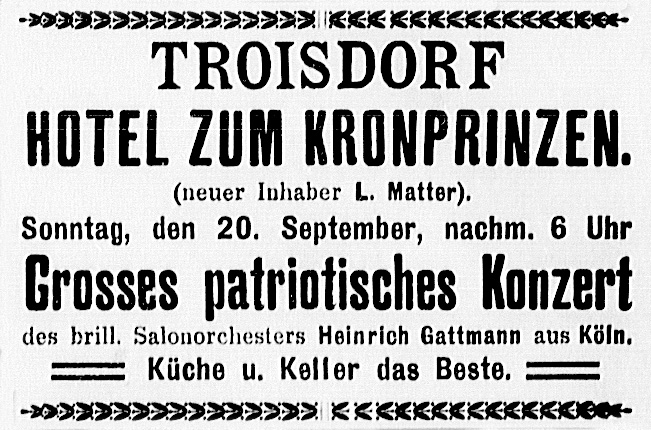 19140920_Patriotisches Konzert