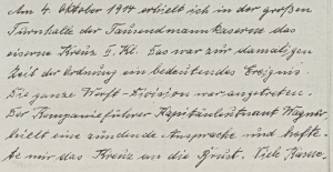 Tagebuch Kreuzer Köln II