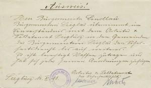 19181116_Ausweis