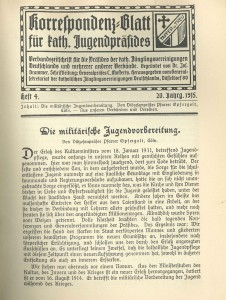 Korrespondenzblatt Heft 4 20 Jg 1915 S 25