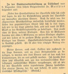 Sparkasse, 01.01.1915
