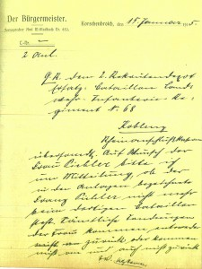 Stadtarchiv Korschenbroich, Historischer Bestand, 1A/2110