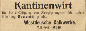 17031915 kriegsgefangene kantine