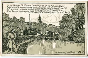 PK 5090_Erinnerung an Thuin_1915