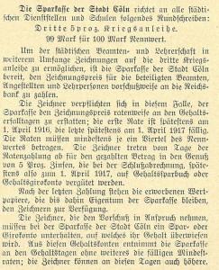 Sparkasse, 1915-09-15_Beamte_SK Cöln_01