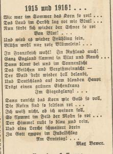 1.1.1916 Gedicht