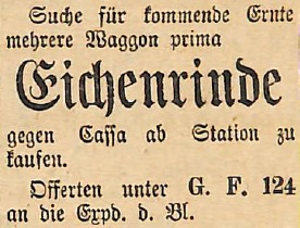 15011916Eichenrinde