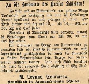 19011916Torfmelasse