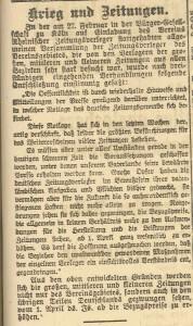 4.3. Zeitung im Krieg
