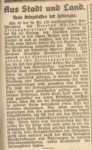 9.3. Zeitung