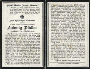 schulchronik Dürscheven 1914_1918_Seite_10 dücker