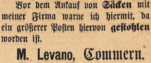 25111916-levano-bestohlen