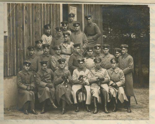 Teilnehmer des des 22. Nachrichten-Offizier-Lehrgang in Wahn vom 1. Oktober bis 14. Oktober 1918